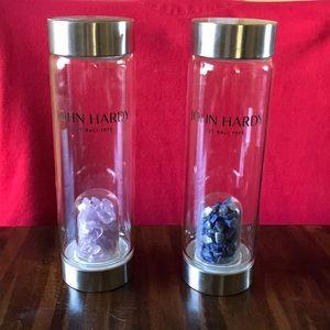 John Hardy Gem Stone Glass Water Bottle